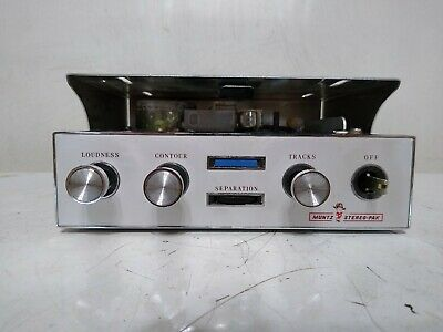 RARE! Muntz 4 Track Tape Player-Recorder Awesome Condition Vintage