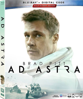 AD ASTRA Blu-Ray Only No Digital Copy