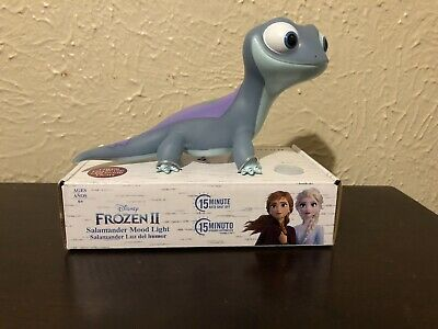 Disney - Frozen 2 - Bruni The Salamander - Mood Color Changing Night Light - New