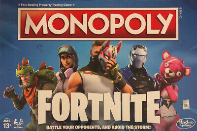 Fortnite Monopoly Edition Board Game NEW Hasbro Fortnight NEW factory sealed