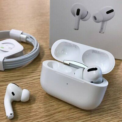 COMPLETE Genuine Apple AirPods Pro MWP22AM/A White In-Ear Wireless Headphones