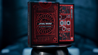 Star Wars Dark Side Red 1 Deck Of Playing Cards By Theory11 Magic Tricks Games