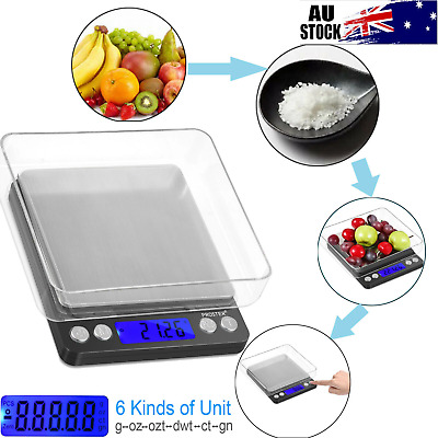 Digital Scale 500g x 0.01g Jewelry Gold Silver Coin Grain Gram Pocket Size Herb