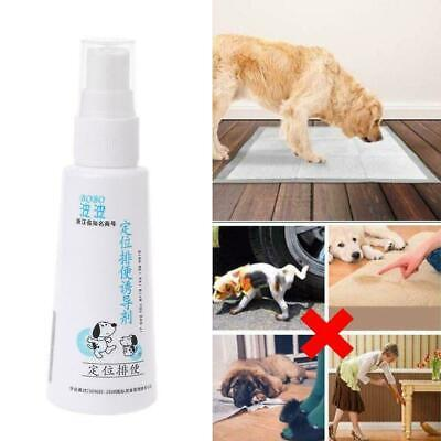 1pc 60ml Dog Potty Training Aid Puppy Cat Pet Toilet For Small Spray Cat Do L4F1