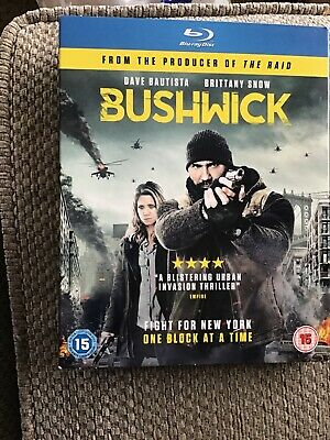 NEW SEALED Bushwick Blu-Ray Dave Bautista Brittany Snow Cary Murnion Milott