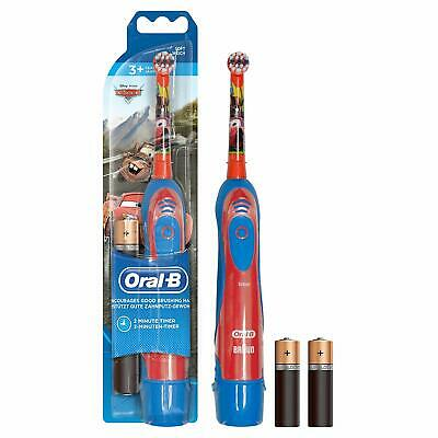 Oral-B Stages Power Electric Kids Toothbrush, Disney Design, with Battery - Cars