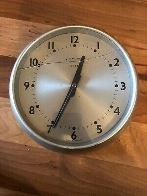 Vintage Synchronome Clock For Spares/repairs/restoration