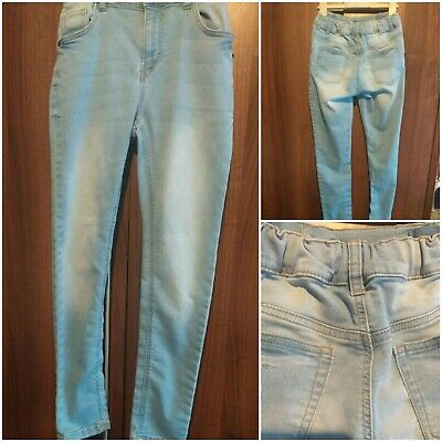 Marks and Spencer Boy's Skinny Jeans Light blue excellent ConditionAge 11.12 yea