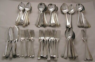 Job lot of OLD ENGLISH Design Sheffield silver plated cutlery - 5.4 Kilos