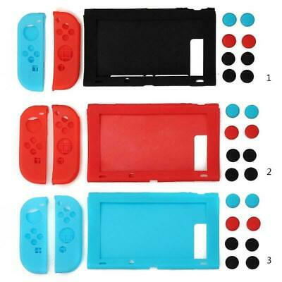 11 in 1 Silicone Case Cover Protective Cap for Nintendo Switch Joysticks Console