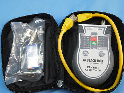 Black Box EZ Check Cable Tester 1607-E4156 NEW