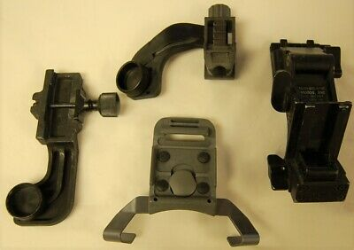 Lot of 4 NVG Mounting Brackets Night Vision Helmet Mounting Bracket LOOK! (RCR)