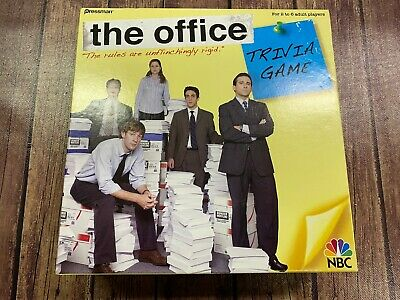 RARE The Office Trivia Game by Pressman - Near Complete/Missing WristBand