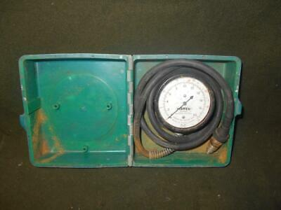 Vintage water pressure gauge by Fisher OUNCES BY SQUARE INCH