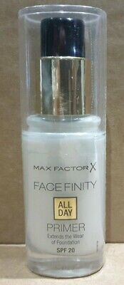 Max Factor Facefinity All Day Primer, SPF 20, 30ml - Sealed