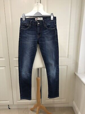 Boys Levis 520 Extreme Taper Fit Age 14 Navy Blue