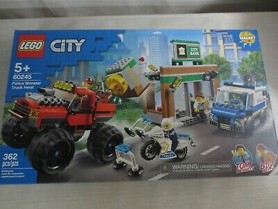 Lego City Police Monster Truck Heist 60245