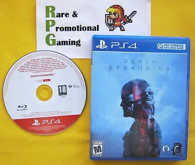 PS4 - Death Stranding - Extremely Rare Press Promo - Fan Artwork