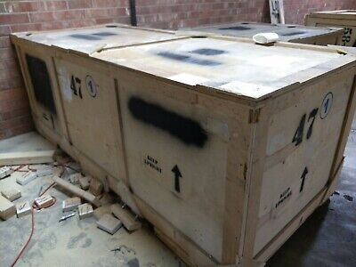 Wooden Shipping crate 110 x 47 x 41 Heavy Duty storage cargo freight box WE SHIP