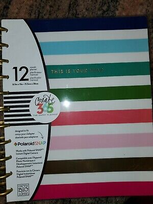 ME & MY BIG IDEAS CREATE 365 HAPPY PLANNER GET IT GIRL 12 MONTH Undated Year