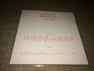 Omd - Electricity / Almost - Limited Clear 7'' Vinyl Vince Clarke Remix Sold Out