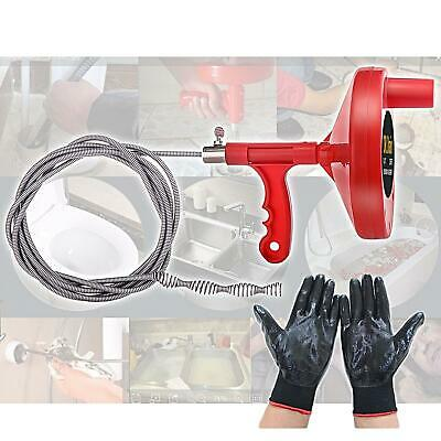 Dr.Drain VEDRAU01A1 Augers Plumbing Snake Pipe Cleaner Household Spring Cable