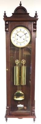 Quality Vintage Twin Weight Wall Clock Regulator German 8Day Striking Wall Clock