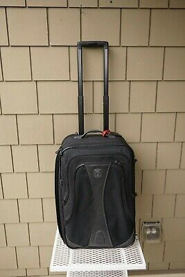 "A+ Tumi T Tech 22"" Madison $495 Expandable Carry On Suitcase Bag Rolling Luggage"