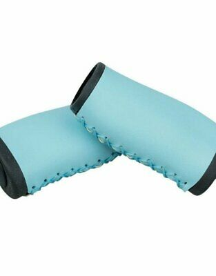 GP062BL Blue Classic bicycle grips cruiser vintage lowrider Balloon Rubber Ergo