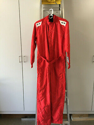 Oakley Coil Over 2 Race Suit, Red - Size Medium New