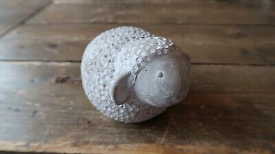 """Vintage Soapstone? Sheep Paperweight 4.75"""""""