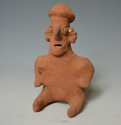 A Pre Columbian ancient Mexican Nayarit figure C 200 BC – 200 AD