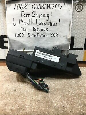 01 Ford F250 F350 TD Interior Fuse Relay Box BCM 1C3T-14A067-CB