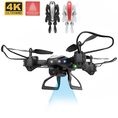 KY909 Foldable HEADLESS mode WiFi FPV RC Quadcopter Drone Toys with 4K HD Camera