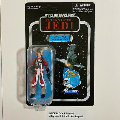 Hasbro Star Wars The Vintage Collection VC63 B-Wing Pilot MOC Case Fresh