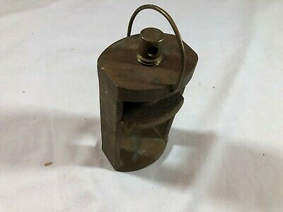 Vintage Brass Dental Denture Press Mold - Nice Works