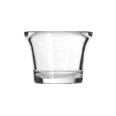 Libbey Glass item 5160 Sauce cup/ Cocktail/Oyster/Butter/BBQ/Tealight CLEAR
