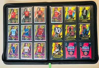 Topps Match Attax - 2018/2019 - EPL Collection in Album - 560 Cards!!!
