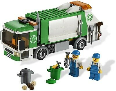 Lego City 7741 GARBAGE TRUCK w Parts List & Link to Instructions 100% Complete