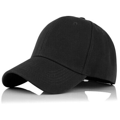 Fashion Blank Solid Color Baseball Cap Golf Sport Hip-hop Hat for Mens Womens