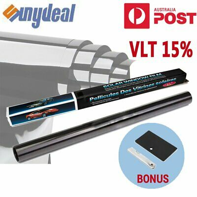 AU Car Auto Home Window Tint Film 15% VLT Roll 76cmX7m Privacy Film+Tinting Tool