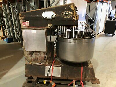 Aust Bakery Equipment Supplies Commercial 150L (approx) Spiral Dough Mixer