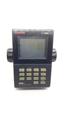 Apelco GXL1100 GPS Nav Display NON TESTÉ NOT TESTED