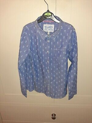 Joules Girls Blouse Age 9-10