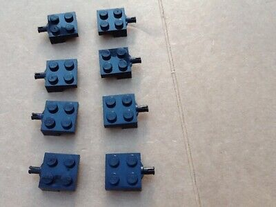 PM189 PLATE LEGO BLACK x 2 Modified 1 x 2 with Ladder 4175