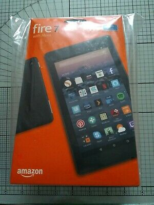 """New Amazon Kindle Fire 7"""" Tablet 8GB with Alexa - blue"""