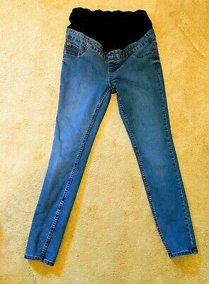 New Look Emilee Maternity Over the Bump Jeggings Jeans Skinny Size. UK 12 EUR 40