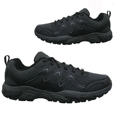 New Mens Hiking Walking Ankle Wide Fit Trail Trekking Trainers Shoes Boots Size