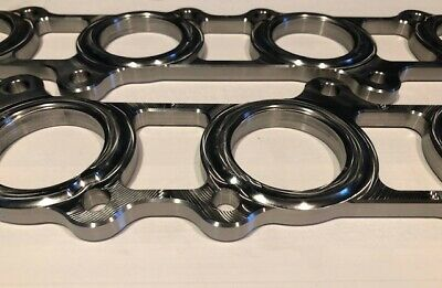 "Coyote Header Flanges// Stubs 5.0L Mustang F150 Modular SVT 1 3//4/"" Port"