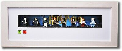 Lego Minifigure Harry Potter framed display with figures